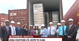 CNC3 Business Watch – ANSA Coatings Ltd. Ships To Cuba
