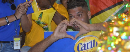 Scenes of Hero CPL 2019 in Guyana with Carib Beer