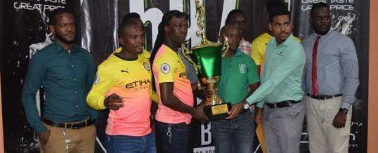 592 Inter-village Football winners rewarded – January 13, 2020