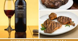 Father's Day Special: Wine and Steak