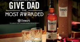 The gift for a great Father: Dewar's