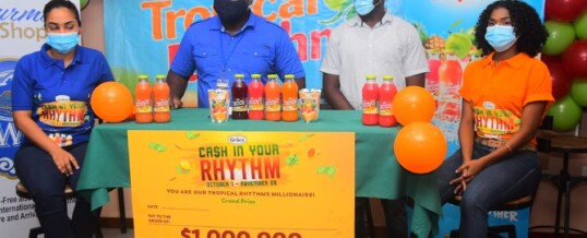Tropical Rhythms launches Cash in you Rhythm Promotion – October 9, 2020